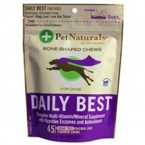 Pet Naturals Of Vermont Pet Naturals Daily Best For Dogs (45 Count)