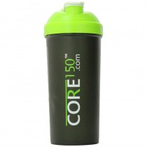 Core150 Green 1 Litre Protein Shaker Cup with 3 Storage Compartments