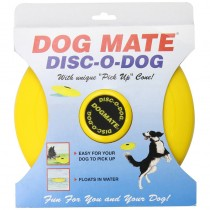 Disc-O Dog Dog Toy Yellow 222Y 23cm