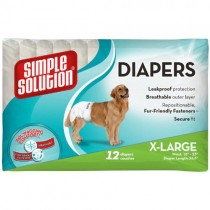 Simple Solution Protective Disposable Diapers, Extra-Large
