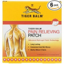 Tiger Balm Patch Pain Relieving Patch 5-Count