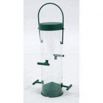 "Wild Bird 8"" / 4 Port Niger Seed Feeder"