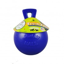 "Tug-n-Toss Jolly Ball 4.5"" Blue"