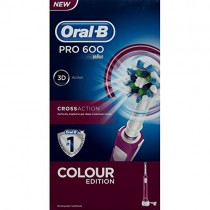 Oral-B 600 Purple Power Pro Cross Action Toothbrush