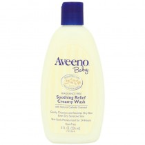 Aveeno Baby Soothing Relief Creamy Wash Fragrance Free 235 ml