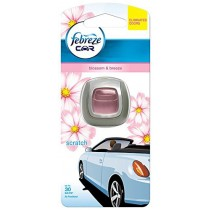 Febreze Clip-on Car Air Freshener Starter Kit Blossom and Breeze 2 ml