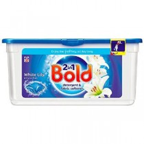 Bold Crystal Rain Laundry Detergent Liquitabs 33 Washes
