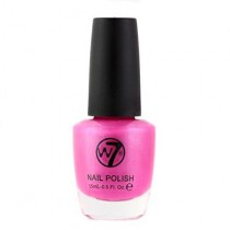 W7 Nail Polish Varnish - 18 Fluorescent Purple 15ml NEW