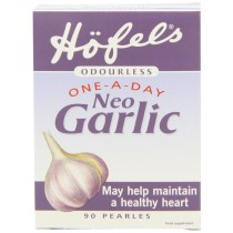 Hofels Odourless One-A-Day Neo Garlic Supplement - 90 Pearles