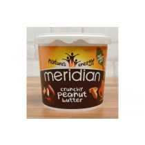 Meridian Natural Crunchy Peanut Butter - No Added Sugar or Salt