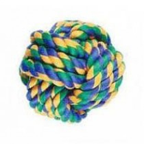 Nuts For Knots Ball Dog Toy (Size: Small)