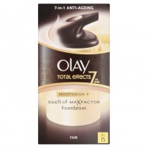 Olay Total Effects Touch Of Foundation BB Day Moisturiser - Fair