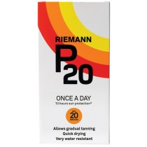 Riemann P20 Once a Day 10 Hours Protection SPF 20 Medium, 200ml