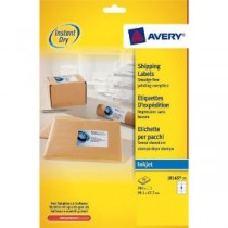 Avery Quick DRY Addressing Labels Inkjet 8 Per Sheet [200 Labels]