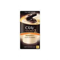 Olay Total Effects Touch Of Sunshine Spf15 Moisturiser