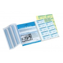 Durable Visitors Book with 100 Refill